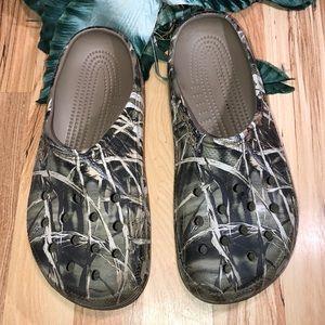 Crocs Camouflage Slide Sandals